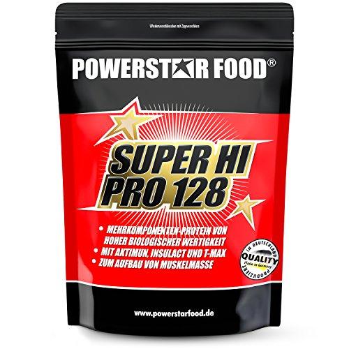 SUPER HI PRO 128 - Mehrkomponenten Protein Pulver - nach wissenschaftlicher Formel erstellt -...