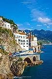 Atrani Village on Amalfi Coast, Italy Lined Journal