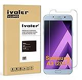 iVoler Verre Trempé Compatible avec Samsung Galaxy A3 2017, Film Protection en Verre trempé écran Protecteur vitre