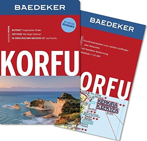 Preisvergleich Produktbild Baedeker Reiseführer Korfu: MIT GROSSER REISEKARTE