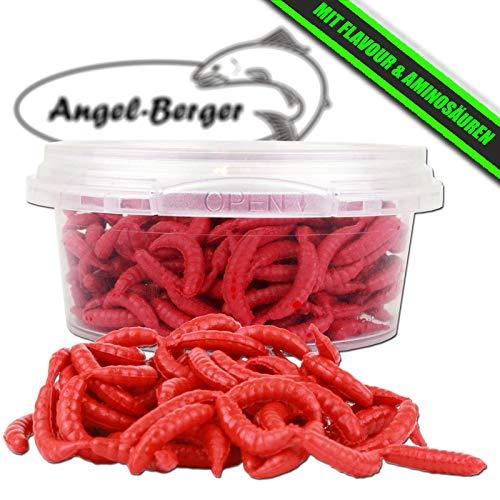 Angel-Berger WDB Amino Live Baits lebend Köder Made Wurm (Made Rot) -