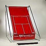 Tri-tennis® XL Tenniswand (Rot)