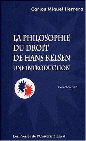 Philosophie du droit de Hans Kelsen : Une introduction
