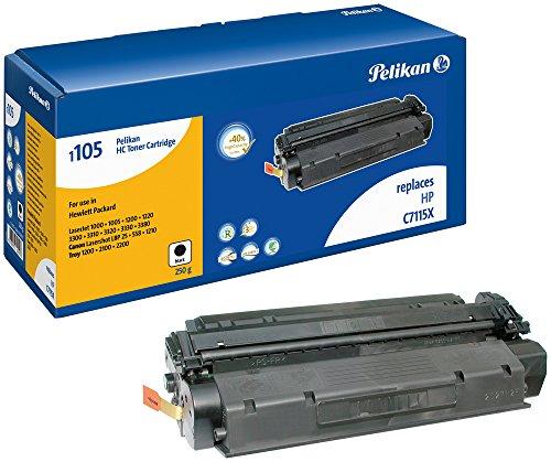Laserjet 3380 Serie (Pelikan Toner-Modul 1105HC ersetzt HP C7115X, Schwarz, 7650 Seiten)