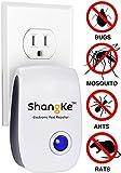 ShangKe Elektronische Ultraschall 5 W AC 90-220 V Schädling Repeller für Nager und Insekten Vertreibt wie Maus Mückenstecker Kakerlake Mehr Beste Schädlingsbekämpfung Produkte Nach Innen.[die vesion]