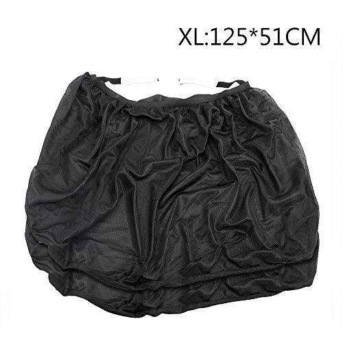 2 x Noir rideau pare-soleil pour la fenetre de voiture Design de ventouse 50 cm x 75 cm R TOOGOO