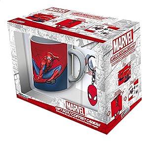 ABYstyle - MARVEL - Caja de regalo - taza 320ml + llavero + Spider-man sticker