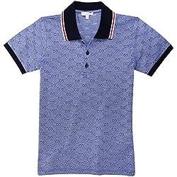 Gucci ragazzi polo blu 258715-4054 BLAU 8 Anni