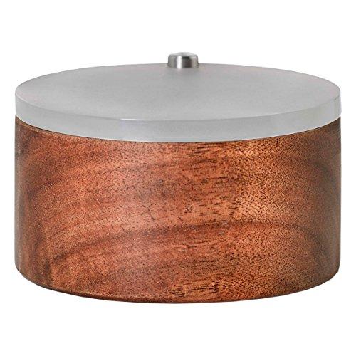 Adhoc barattolo per spezie spico, contenitore, portaspezie, legno di acacia, acrilico, Ø 9.7 cm, gc20