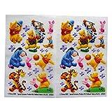 Winnie the Pooh und Freunde - Bunte Kreative Unebenheit auf Übertragung Aufkleber - 2 Blatt