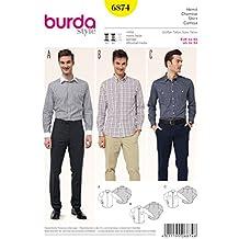 Patrón Burda 6874 Camisa