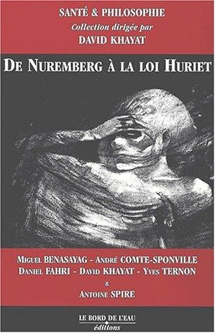 De Nuremberg à la loi Hurriet