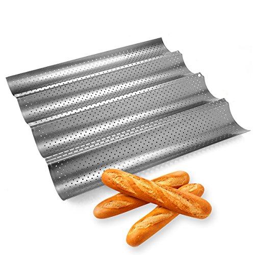 No-Stick Französisch Brot Pfanne zum Backen Baguettes Backen Backformen Baguette Pan Baguetteform