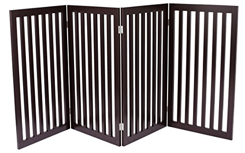 internets-best-traditional-dog-gate-91-cm-tall-height-4-panel-espresso
