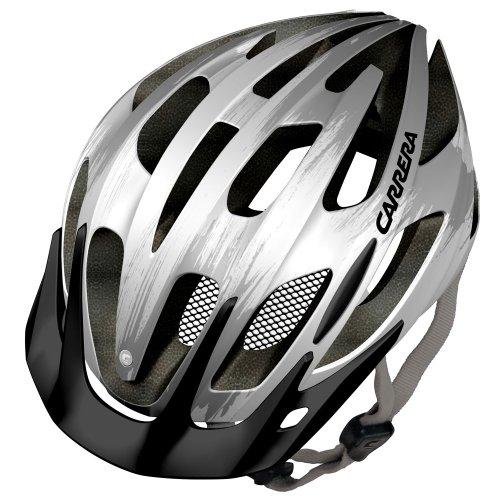e0424-hook-corsa-mtb-casco-per-bici-unisex-e0424-hook-blanco-blanco-brillante-y-plateado-58-62-cm