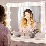 Chende Hollywood Specchio vanità Illuminato Regolabile per Il Trucco da Tavolo + lampandina a LED in Gratis (8065) (8065)