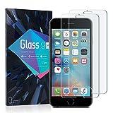 SHARP kugelsichere Displayschutzfolie für iPhone 6 / iPhone7 / iPhone8 [2 Stück], 9H Härte, Kratzfestigkeit, HD-Entfernung, keine Luftblasen, starker Anti-Fingerprint, Tempered Glas Schutzglas