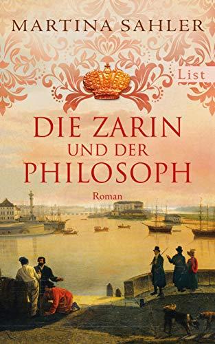 Buchseite und Rezensionen zu 'Die Zarin und der Philosoph' von Martina Sahler