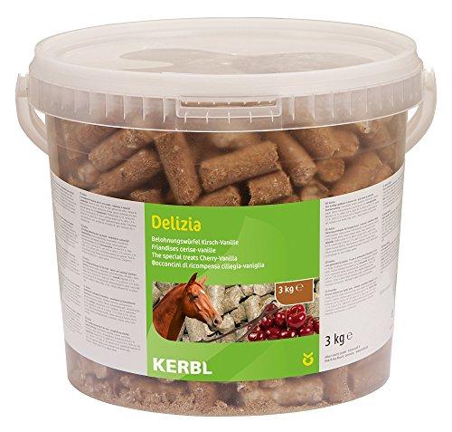 Kerbl Delizia Sweeties Vanille Kirsch, 1er Pack (1 x 3 kg)