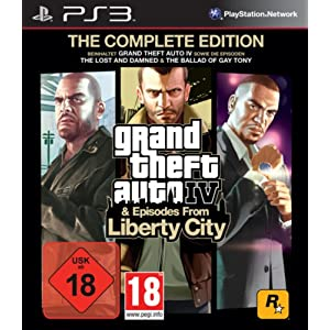 Grand Theft Auto IV & Episodes from Liberty City – The Complete Edition – [PlayStation 3]