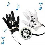 KIKAR Piano électrique de gants Taille moyenne)-Cadeau amusant pour adolescents et adultes!