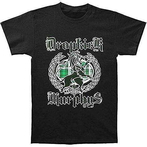 Dropkick Murphys Lion Plaid Homme T-Shirt