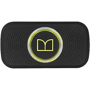 Nib In Plastic Audio Docks & Mini Speakers Monster Power Superstar High Def Bluetooth Speaker Black/green Consumer Electronics