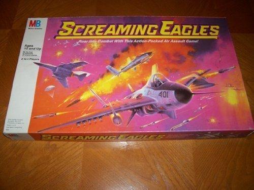 Screaming Eagles Board Game by Milton Bradley