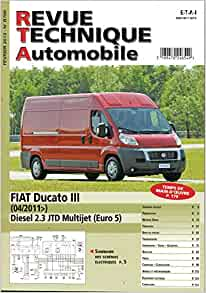 revue technique automobile n 768 fiat ducato. Black Bedroom Furniture Sets. Home Design Ideas