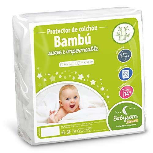 Babysom   Protector Colchón Cuna | Cubre Colchón