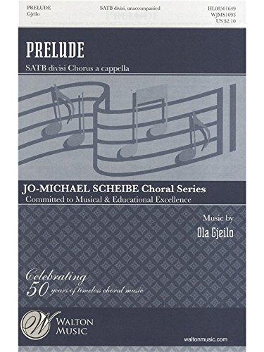 Prélude - SATB a Cappella - CHORAL SCORE