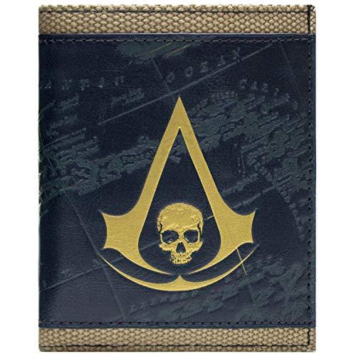 Flag Kostüm Cosplay Assassins Creed Black - Ubisoft Assassins Creed Black Flag Bronze Portemonnaie Geldbörse