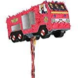 Amscan International 9902906 Pinata licensedpinata Pull: Feuerwehrmann Sam