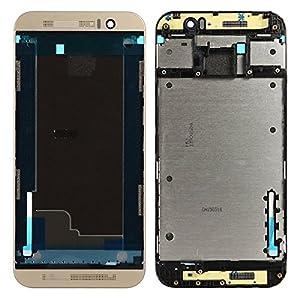 BisLinks® Marke Neu Gold Mitte Chassis Lünette Rahmen Für HTC One M9