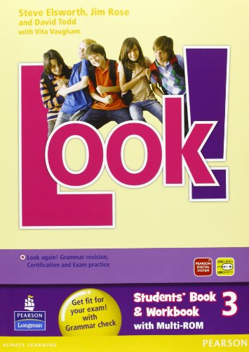 Look! Student's book-Workbook-Look again. Per la Scuola media. Con Multi-ROM. Con espansione online: 3