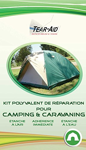 Reparaturset ohne Klebstoff für Zelte, Schlafsäcke, Matratzen, Planen und andere Campingmaterialien, sofortige Wirkung, vielseitig