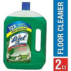 Lizol Disinfectant Floor Cleaner Jasmine, 2 L