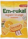 Em-eukal Ingwer-Orange zuckerfrei, 81 g