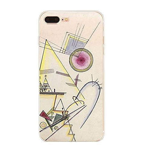 Coque iPhone 7 Plus,JEPER® TPU Souple Silicone Crystal Clear Transparent Anti-Choc Anti-Scratch Artistique Case pour Telephone Apple iPhone 7 Plus 5.5 Pouces (iPhone 7 Plus, pattern 07)