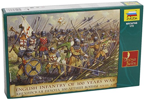 Zvezda 500788060 - 1:72 English Infantry 100 Years War