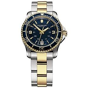 Victorinox Maverick Reloj para Mujer Analógico de Cuarzo Suizo con Brazalete de Acero Inoxidable V241790