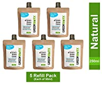 Greenworx All Surface Kitchen Cleaner Natural 2.5 litres ready to use (Pack of 5 Refill pack) each makes 500 ml ( total 2.5 litres) Food Grade Certified Baby Safe Pet Friendly Eco-Friendly Non-Toxic Biodegradable No Harmful Chemicals With superior green surfactant technology with enzymatic action, chimney cleaner, 5 refill pack each of 50 ml make 500ml ready to use