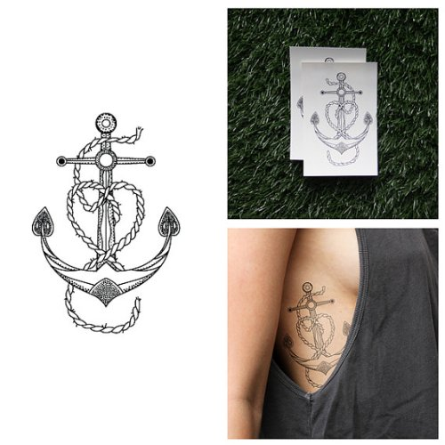 tattify-vintage-anchor-temporary-tattoo-leviathan-set-of-2