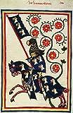 Kunstdruck/Poster: Buchmalerei Zürich Codex Manesse