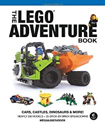 The LEGO® Adventure Book: Cars, Castles, Dinosaurs and More!