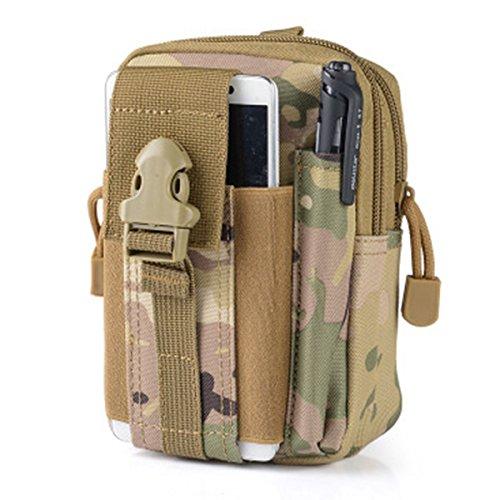 Wear-Resisting Taktisch Tasche - WinCret Außen Sport Leichtbau mit Hoher Kapazität Wasserdicht Nylon Molle Reißverschluss-Pack Utility Taille Tasche für Kleine Gegenstände (Armee Ranger Kind Kostüme)