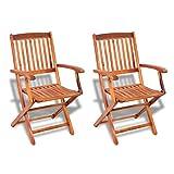immagine rappresentativa del prodotto VidaXL, sedie da giardino in legno d'acacia