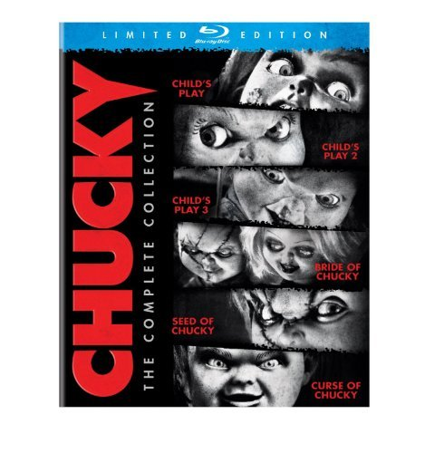 Childs Play - Chucky: The Complete Collection Blu-ray - 1, 2, 3, Bride & Seed [Region B] (Blu-ray Play Childs)