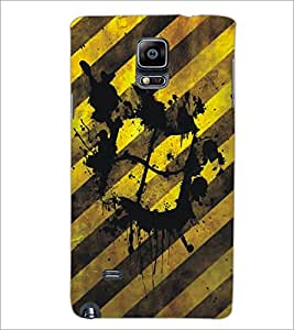 PrintDhaba Windows D-5469 Back Case Cover for SAMSUNG GALAXY NOTE 2 (Multi-Coloured)
