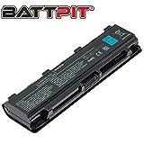 BattPit Batterie pour PC Portables Toshiba PA5024U-1BRS PA5023U-1BRS PA5025U-1BRS PA5026U-1BRS PA5027U-1BRS PABAS259 PABAS260 PABAS262 Satellite C850 C855 C870 C875 L830 L850 L855 L870 P850 P855 - Haute Performance [6 Cellules/4400mAh/48Wh]